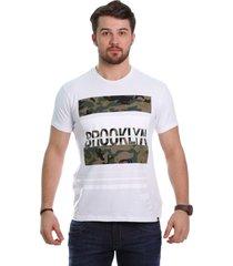 camiseta javali brook branca - kanui