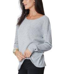 nydj boat-neck sweater