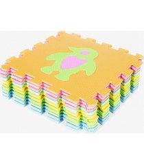 mat alfombra eva puzzle multicolor chancleta