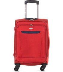 maleta de viaje pequeña textil ruedas 360 94122 carmesí 20