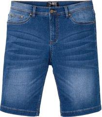 bermuda in jeans powerstretch con taglio comfort (viola) - bpc bonprix collection