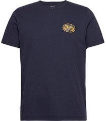 arvo t-shirt t-shirts short-sleeved blå makia
