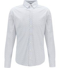 boss men's mabsoot slim-fit shirt