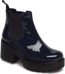 dioon shoes boots ankle boots ankle boot - heel blå vagabond