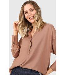 blusa marrón yurine freya