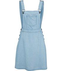 abito salopette di jeans in tencel™ lyocell (blu) - john baner jeanswear