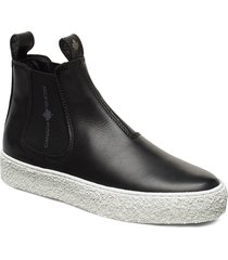 mount verm shoes chelsea boots svart canada snow