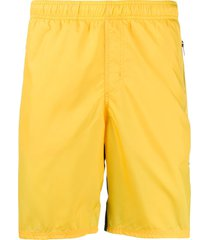 givenchy two-tone swim shorts - yellow