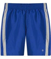 pantaloneta azul-gris facol