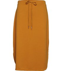 merlepw sk knälång kjol gul part two