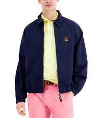 tommy hilfiger men's reversible iconic ivy jacket
