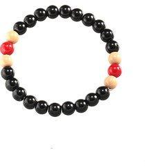 braccialetto di perline fatto a mano d'annata del braccialetto liscio borda i monili di modo dei braccialetti per gli uomini