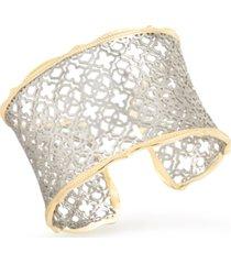 kendra scott filigree medallion cuff bracelet