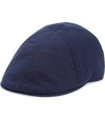 goorin bros. the gus newsboy cap, size large in navy at nordstrom