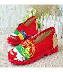alpargatas boweipeiqi ucranie color rojo