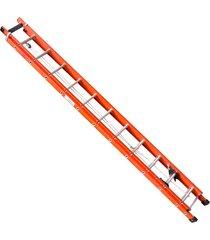 escada de fibra santa catarina, 16 degraus, extensível, efe-10