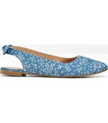 ballerine con cinturino (blu) - bpc bonprix collection