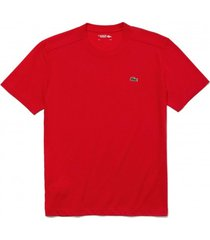 lacoste t-shirt men th7618 crew neck red-