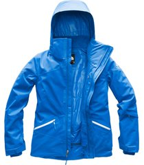 chaqueta lenado azul the north face