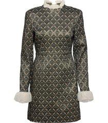 rosetta by nbs jurk knielengte blauw custommade