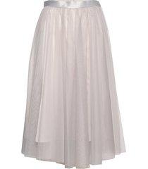 flawless skirt knälång kjol vit ida sjöstedt