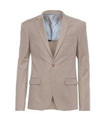 blazer masculino live - marrom