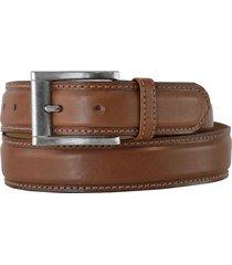 cinturón marrón briganti hombre tabora