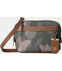 tommy hilfiger women's camo crossbody bag camo -