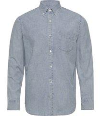 levon shirt 5189 overhemd casual blauw nn07