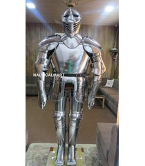 medieval knight wearable full suit of armour collectible armour costume