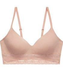 natori intimates bliss perfection contour soft cup t-shirt wireless bra women's, size 30dd
