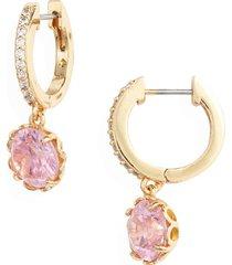 women's kate spade new york that sparkle pave huggie hoop earrings