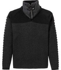 maglione con cerniera (grigio) - rainbow