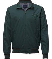 op2. the haven jacket dun jack groen gant