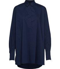 harlow overhemd met lange mouwen blauw munthe
