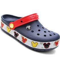 sandália crocs infantil disney lights mickey clog