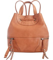frye and co. dallas leather backpack