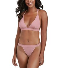 dreamgirl soft jersey bralette and panty set, online only