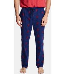 nautica men's cotton lobster-print pajama pants