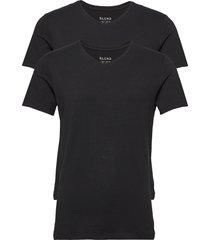 bhnico tee 2-pack noos t-shirts short-sleeved svart blend