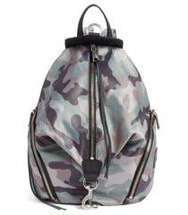 rebecca minkoff julian nylon backpack - green