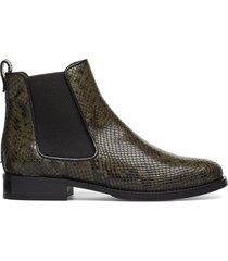 boots 7913 shoes chelsea boots grön billi bi