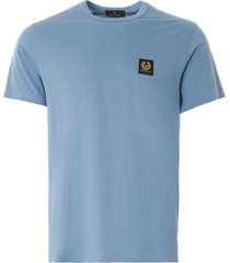 belstaff short-sleeved t-shirt | airforce blue | 71140305-80022