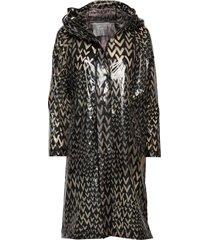 rainly coat regnkläder multi/mönstrad second female