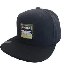 boné hurley aloha black