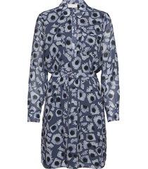 bennington knälång klänning blå fall winter spring summer