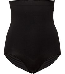 higher panties lingerie shapewear bottoms svart spanx