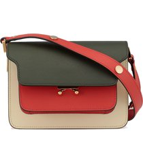marni bovine leather shoulder bag