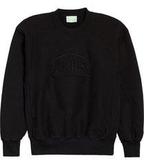 men's aries temple logo sweatshirt