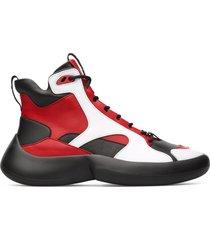 camper lab abs, sneaker donna, nero/rosso /bianco, misura 41 (eu), k400417-001